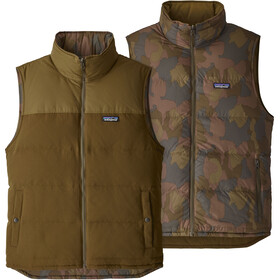 Patagonia Reversible Bivy Down Vest Men sediment